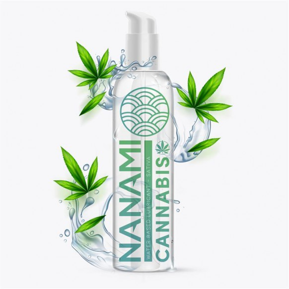 Lubricante Base de Agua Cannabis 150 ml