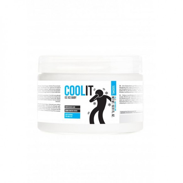 Lubricante Base Agua Cool It Ice Baby...