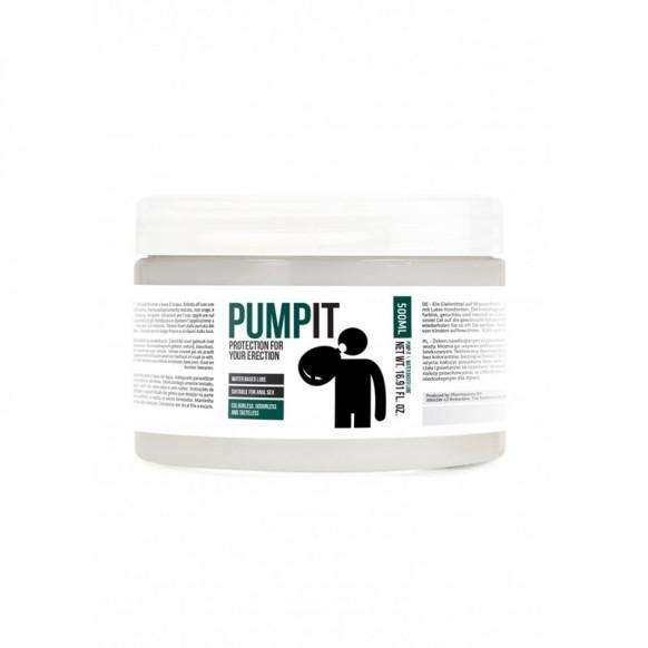 Lubricante Base de Agua Pump it 500 ml