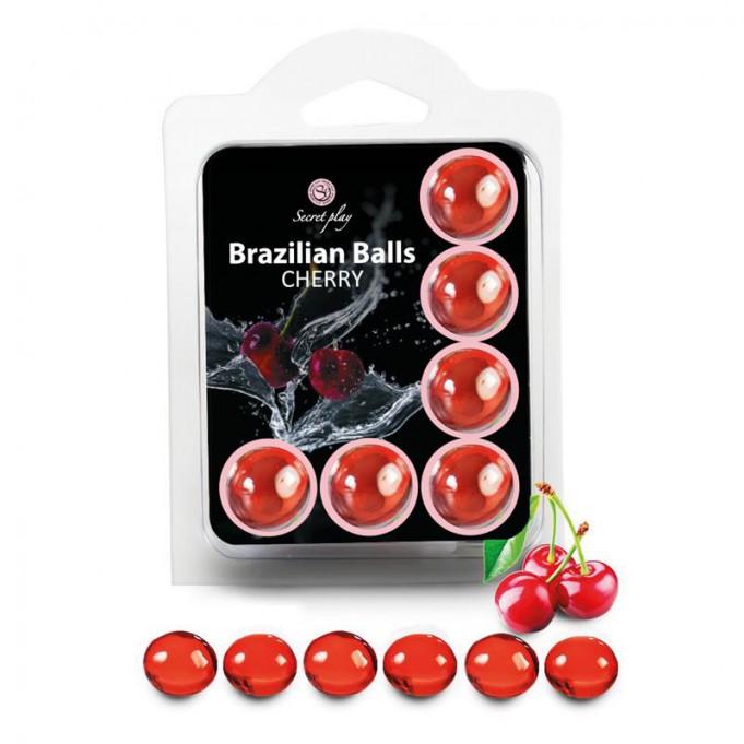 Brazilian Balls Set 6  Cereza