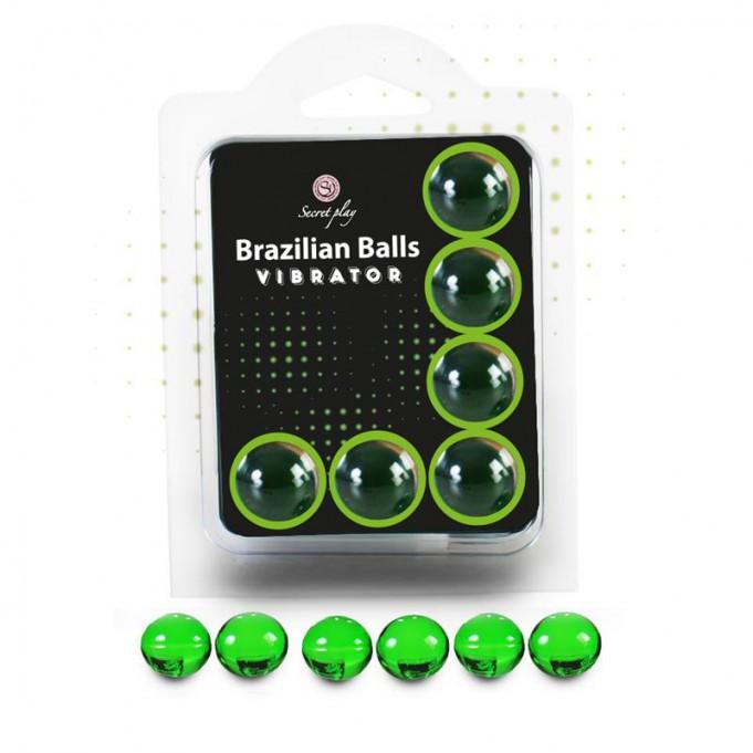 Brazilian Balls Set 6  Efecto Vibración