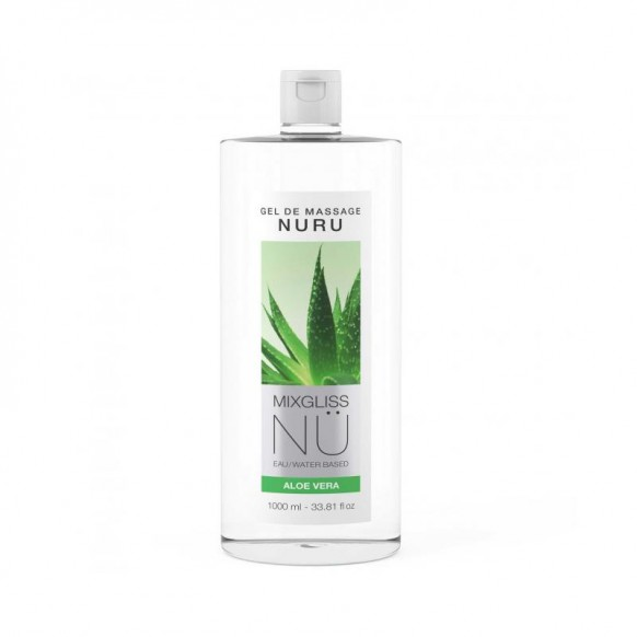 Lubricante Nu Aloe Vera 1000 ml